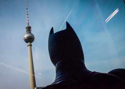 Batman am Alexanderplatz